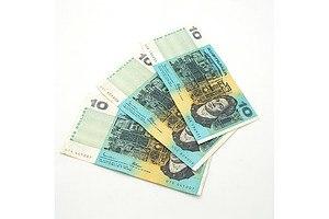Three Australian Johnston/ Fraser $10 Notes, UUK, UUC and UTA