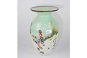 Eamonn Vereker Studio Glass Vase