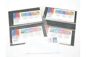 Five Australian 2000 Olympic Games First Day Covers