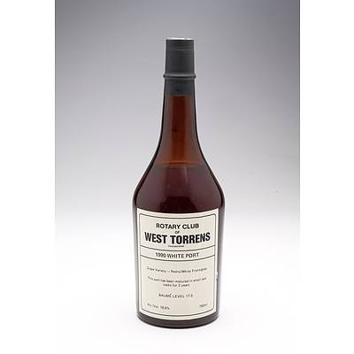 Rotary Club of West Torrens 1990 White Port 750ml