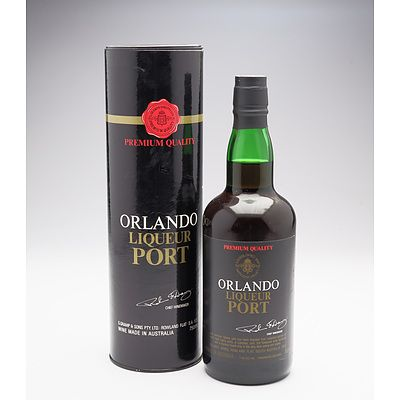 Orlando Liqueur Port - 750ml in Presentation Tin