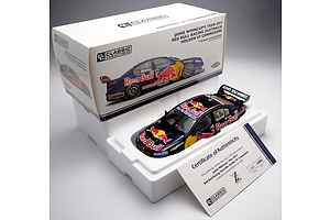 Classic Carlectables Jamie Wincup's 2013 Red Bull Racing Australia Holden VF Commodore