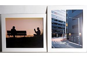 Photograph of Canberra by Kavindu Bandara and Photograph of Canberra by Paul Bainton