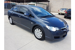 6/2008 Honda Civic VTi MY07 4d Sedan Grey 1.8L