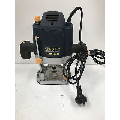 GMC 1020W Electric Plunge Router