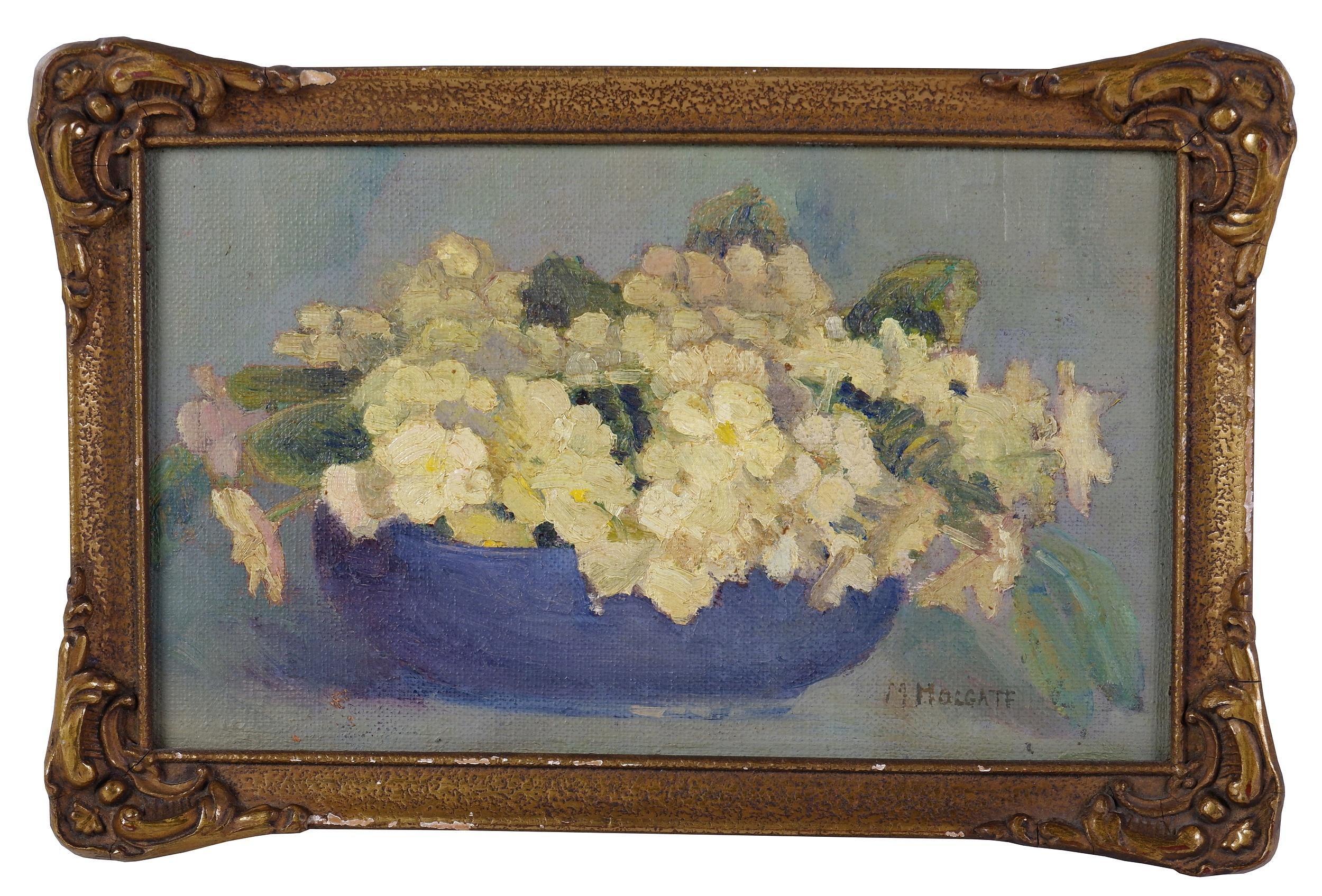 'Maria Holgate (Early 20th Century), Still Life, Oil on Canvas'