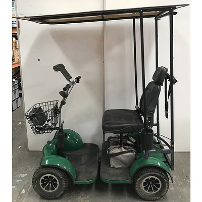 Grasshopper Single Seat Electric Golf Buggy
