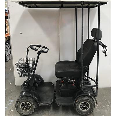 Mi-Caddy Single Seat Electric Golf Buggy