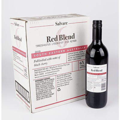 Case of 6x Salvare 2019 Red Blend 750ml