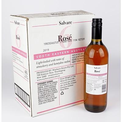 Case of 6x Salvare 2019 Rose 750ml