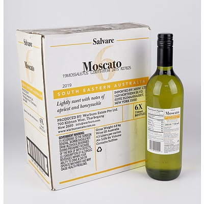 Case of 6x Salvare 2019 Moscato 750ml