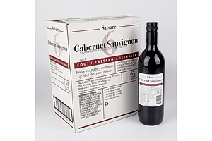 Case of 6x Salvare 2019 Cabernet Sauvignon 750ml