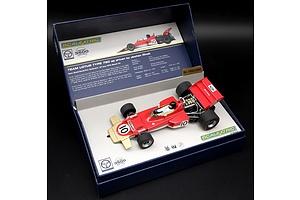 Scalextric, 1970 Team Lotus Type 72C, Jochen Rindt, 1692/3500, 1:32 Scale Model