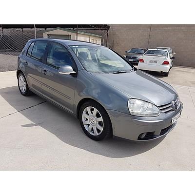 11/2005 Volkswagen Golf 2.0 FSI Sportline 1K 5d Hatchback Grey 2.0L
