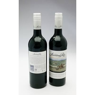Jamiesons Run Limestone Coast 2009 Cabernet Sauvignon - Lot of 2 Bottles