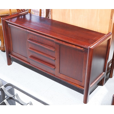 Circa 1980s Garry Masters Solid Timber Sideboard