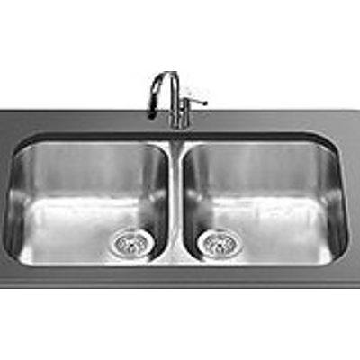 Smeg UM3434A Dual Bowl Stainless Steel Sink - Brand New -RRP $664.00