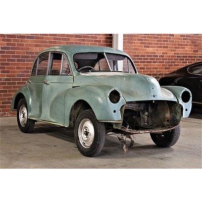 01/1955 Morris Minor Series II Sedan Moss Green