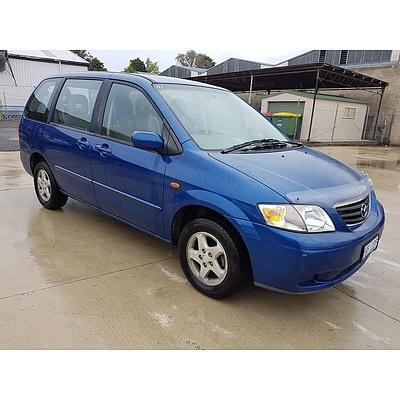 3/2000 Mazda Mpv  LW 4d Wagon Blue 2.5L