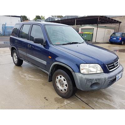 03/2001 Honda CR-V Wagon Blue 2.0L