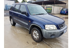 03/2001 Honda CR-V Wagon Blue 2.0L
