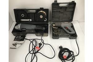 Ozito Angle Grinder And Heat Gun