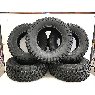 Set Of Five Comforser CF3000 35 Inch All Terrain Tyres -Brand New