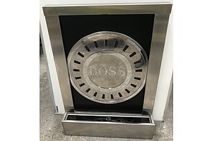 Hugo Boss Stainless Steel Illuminated Water Feature