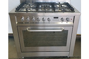 Ariston 90cm Freestanding Gas Six Burner Hob Cooktop/Electric Oven Combination Unit