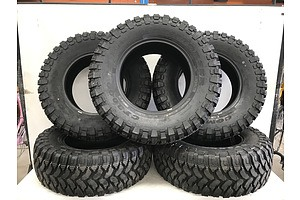 Set Of Five Comforser CF3000 35 Inch All Terrain Tyres -Brand New