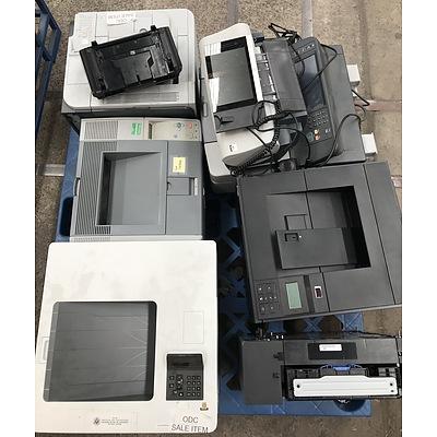 Five Assorted Printers