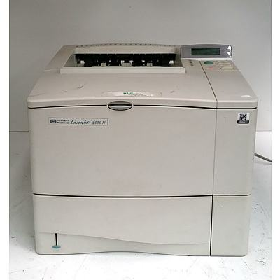 HP Laserjet 4050N Black & White Printer