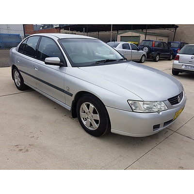 3/2003 Holden Commodore Acclaim VY 4d Sedan Silver 3.8L