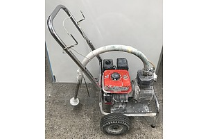 Mitsubishi Four Stroke Petrol Spray Painting Machine