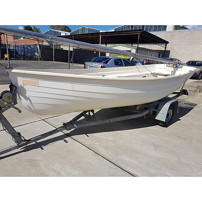 Springbank 4.5 Daysailer Boat with Trailer