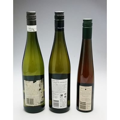 Pauletts 2017 Clare Valley Riesling, Annies Lane2019 Riesling and Mount Horrocks 2009 500 ml Cordon Cut Riesling (3)