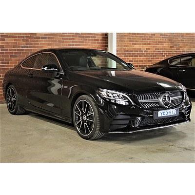 10/2019 Mercedes-Benz C200 205 2d Coupe Black 2.0L