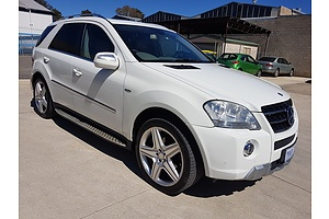 3/2010 Mercedes-Benz ML350 CDI Sports Luxury (4x4) W164 09 UPGRADE 4d Wagon White 3.0L