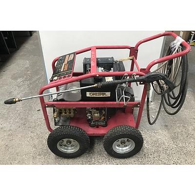 Toolex 3500 PSI Diesel High Pressure Cleaner