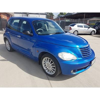 1/2006 Chrysler Pt Cruiser Grand Tourer MY06 5d Hatchback Blue 2.4L