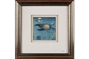 Jorg Schmeisser (1942-2012), Crab Claw 1980, Etching and Aquatint
