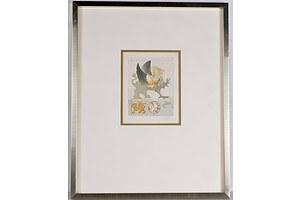 Jorg Schmeisser (1942-2012), Gryphon 1974, coloured etching