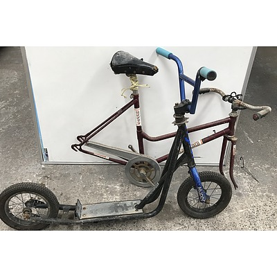 Repco Bike and Big Wheel Scooter