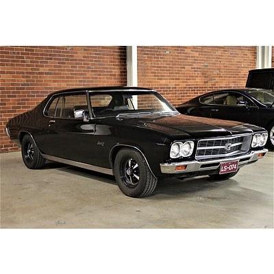 01/1974 Holden HQ LS Monaro Coupe Black 4.2L 253 V8