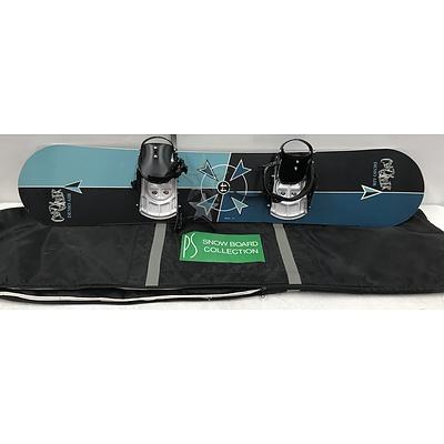 Crazy Creek Demo Air Snowboard
