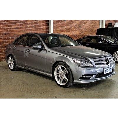 5/2010 Mercedes-Benz C250 CGI Avantgarde W204 MY10 4d Sedan Silver 1.8L