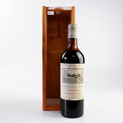 S. Wynn & Co Coonawarra 1957 Cabernet in Timber Box