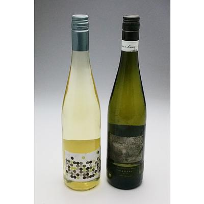 Annies Lane 2019 Riesling and 5452 by KT 2016 Riesling (2)