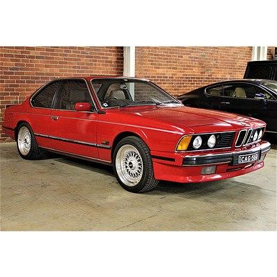 1/1989 Bmw 635 CSi (M635csi Replica) 2d Coupe Red 3.5L M88/3