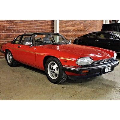 12/1985 Jaguar XJ-SC H.E. 2d Targa Red 5.3L V12